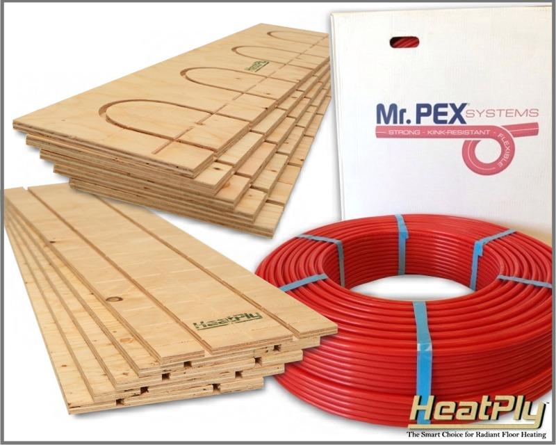 Radiant Floor Heating Kits