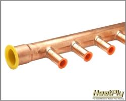 Copper Manifolds Hydronic Heating Manifolds