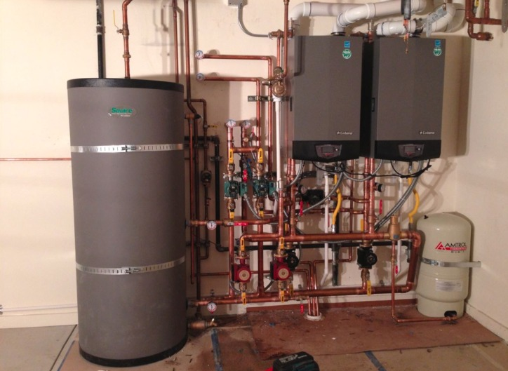 What is hydronic heating