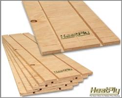 Hydronic Radiant Floor Heating Panels